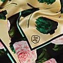 Large Artichokes Silk Scarf image