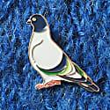Enamel Pin Pigeon image