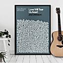 Love Will Tear Us Apart - Song Lyric Print image
