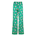 Poppy Silk Pyjama Trousers In Rainforest image