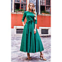 Jacquard Dress Alyzee Green image
