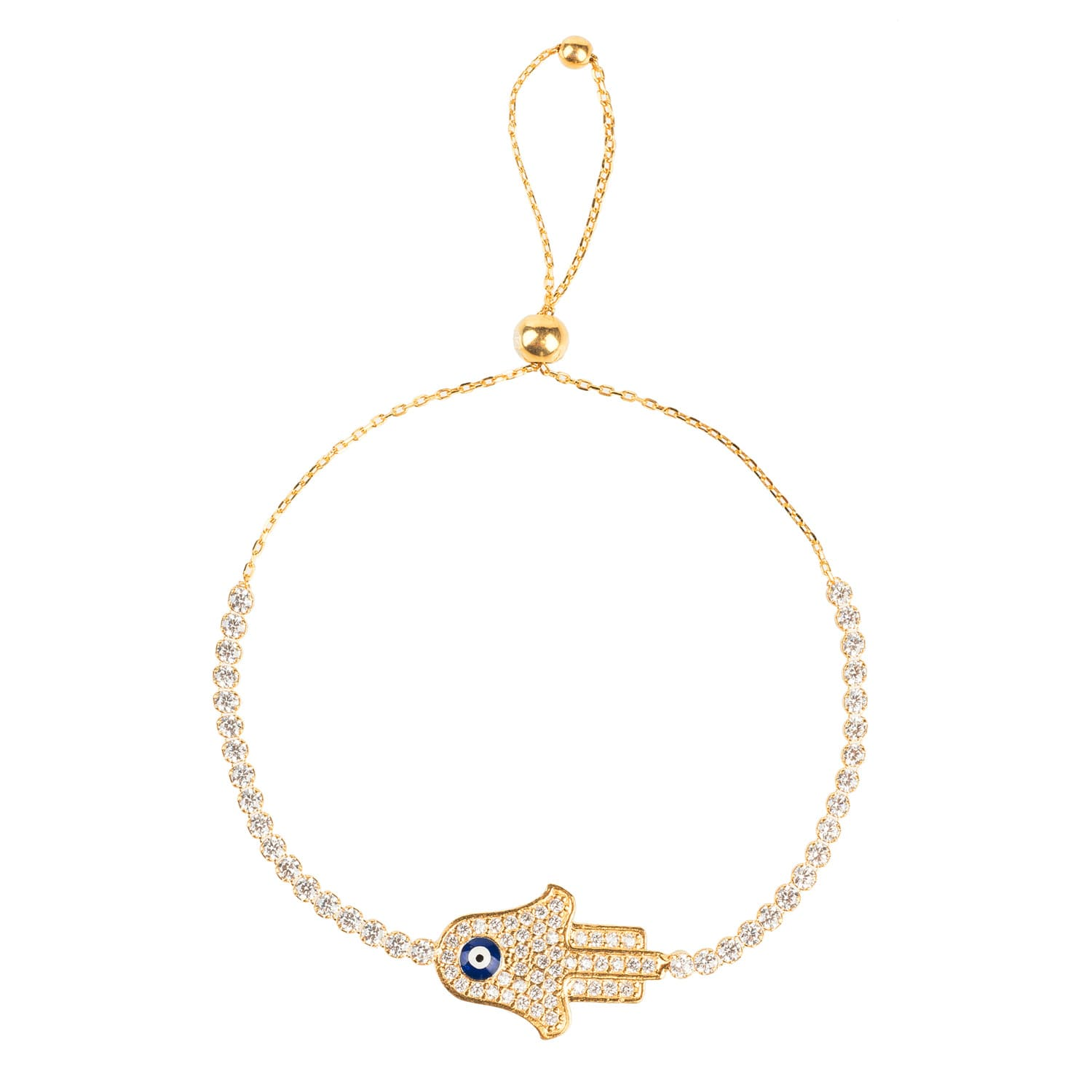 bracelet pin diamond cavelier nada hamsa by le