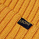 Sun Yellow Atlantic Watch Cap Beanie image