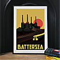 Gritty Not So Pretty Art Print Of South London image