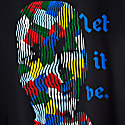 Recycled Print Let It Be T-Shirt image