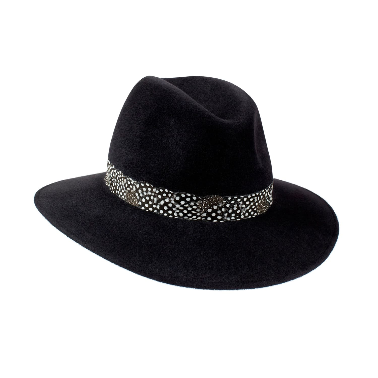 Willow Fedora Black - Feather Band image 87d83d506a7