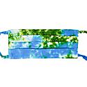 Face Mask - Green-Blue Tie Dye image