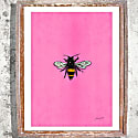 The Bee Signed Print image