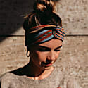 Knitted Multi Colour Cotton Hairband image
