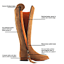 The Regina Tan - Suede Boot image