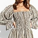 Midi Silk Chloe Dress image