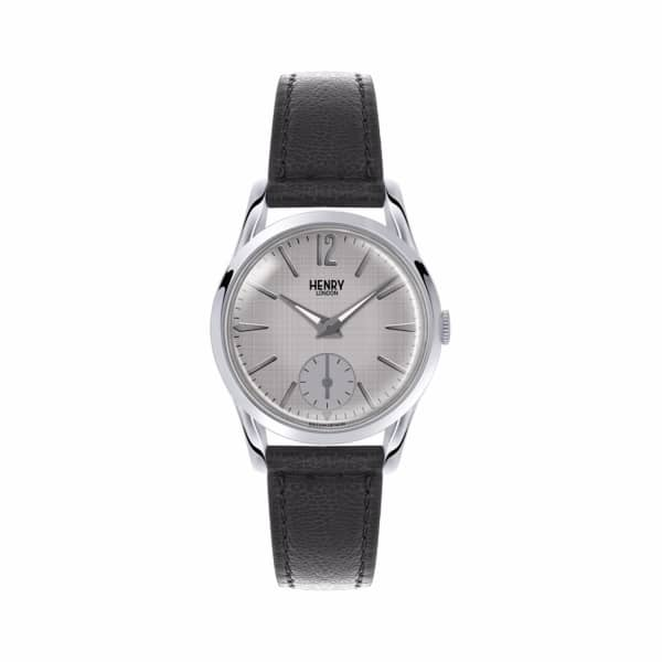 HENRY LONDON Ladies 30Mm Piccadilly Leather Watch