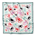 Crabby - Silk Medium Square Scarf image