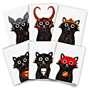 Superhero Cat Cards Pack Of 6 image
