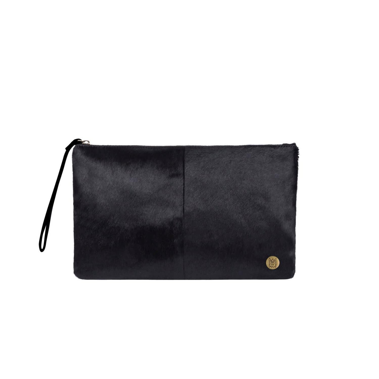 Classic Clutch Bag In Black Pony Fur  8cb0adf753da5