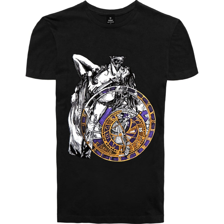 Dark Angel Gothic Black 3d Print T Shirt Raddar7 Wolf Badger