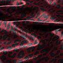 Satin Print Long Dress image