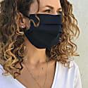 Premium Organic Cotton Face Mask - Midnight Blue image