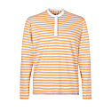 Firefly Long Sleeve Polo In Amber image