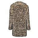 Tyra Leopard Fur Coat image