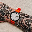 Ksana Neon Orange Vegan Watch - 30mm image