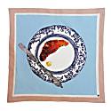 Croissant Plate Linen Napkins Set Of 2 image