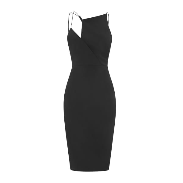 OUTLINE The Black Maxwell Dress