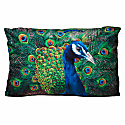 Peacock Cushion - Large image