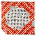 Red Girotondo Silk Scarf image