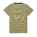 Aw19 Fletcher Stripe T-Shirt Port/Jojoba/Ecru image