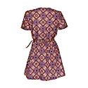 Short Sleeve Wrap Dress image