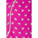 Goodie Top Hot Pink Palm Tree Print image