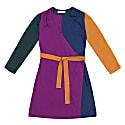 Terez Color Block Wrap Dress image