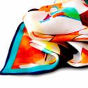 Orchid Twill Silk Pocket Square image