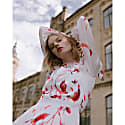 Lachlan Floral Printed Midi Dress image
