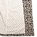 Cream Leaf Dressing Gown image