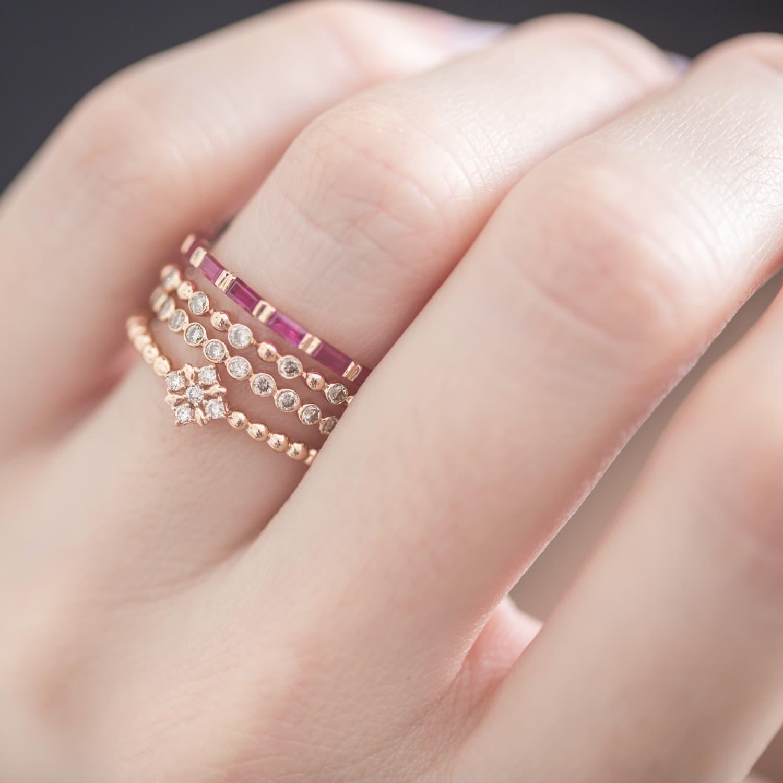 The Calendar Diamond Ring   Joana Salazar   Wolf & Badger