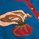 Ellie Tomato Jacquard Cardigan image