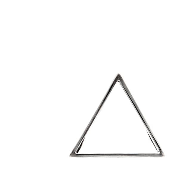GLENDA LOPEZ The Silver Triangle Clip
