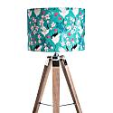 Crane & Blossom Lampshade - 30cm image