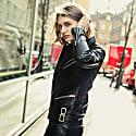Tokkou Unisex Cowhide Leather Jacket In Black image