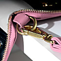Champion Zip Around Leather Wallet In Pink image