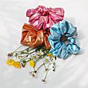 Zero Waste Scrunchie Blue Shimmer image