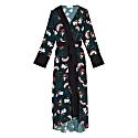 Sakura Print Kimono Midi Dress image
