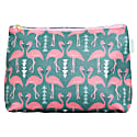 Flamingo Flourish Wash Bag Mint image