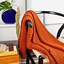 Braided Throw - Coral image
