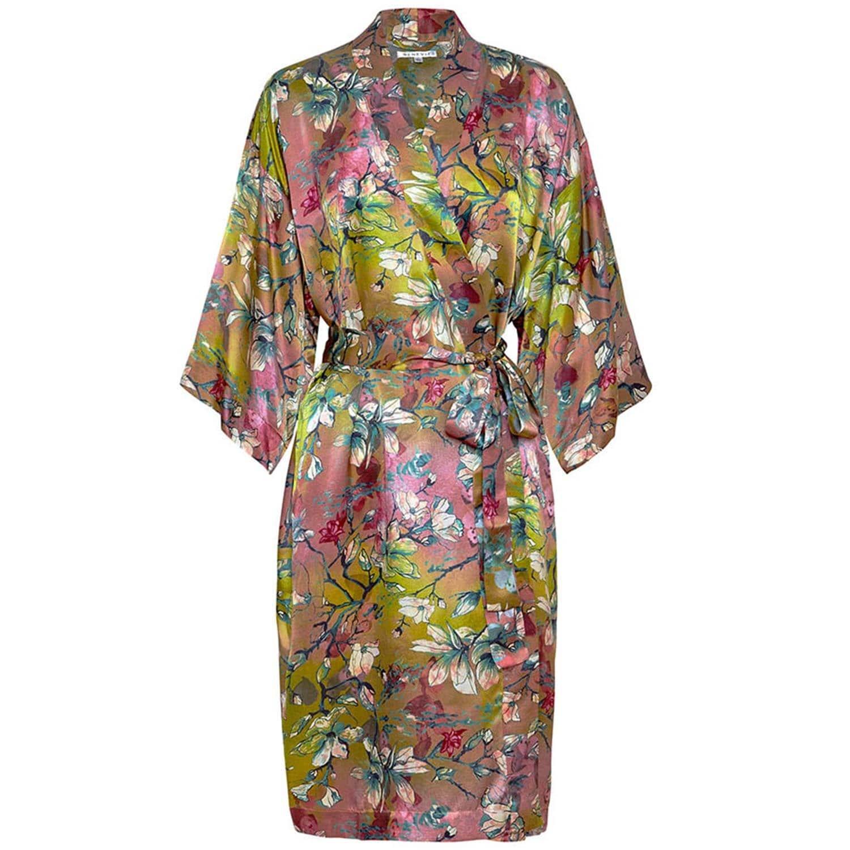 Magnolia Silk Kimono Robe  34e3c9837