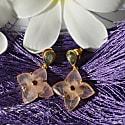 Toyah Rose Quartz Labradorite Tourmaline Earrings image