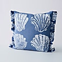 Pilgrim Cushion - Sea Blue image