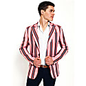 Pink Striped Blazer Gusii image